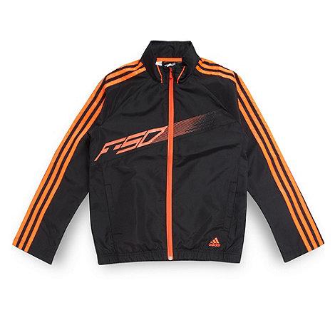 adidas - Boy+s black +F50+ woven top
