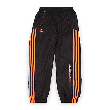 adidas - Boy+s black +F-50+ jogging bottoms