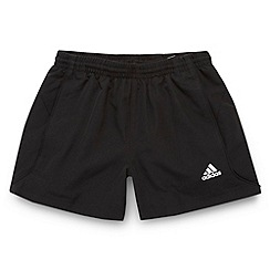 adidas - Boy's black 'Chelsea' shorts
