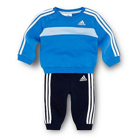 adidas - Babies blue jogger set