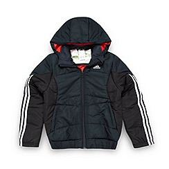 adidas - Boy's black padded jacket
