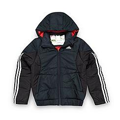 adidas - Boy's black padded jacket