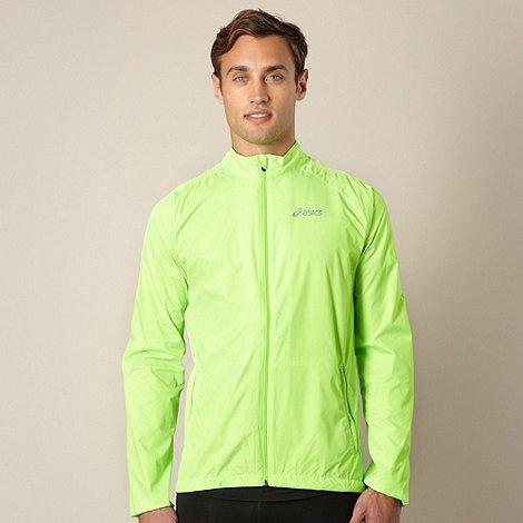ASICS - Bright green woven running jacket