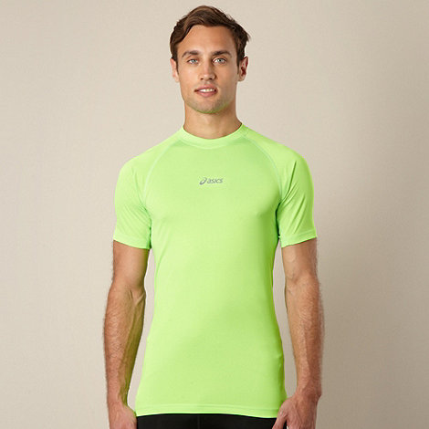 ASICS - Bright green running t-shirt