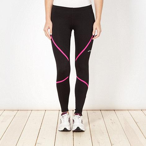ASICS - Black thermal fitness leggings