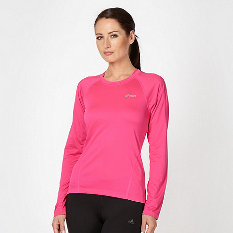 ASICS - Pink long sleeved running top