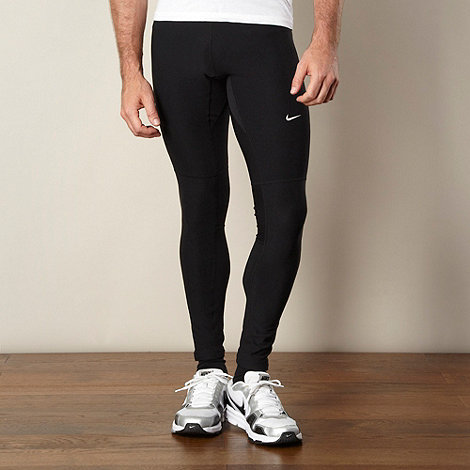 Nike - Black slim fit jogging bottoms