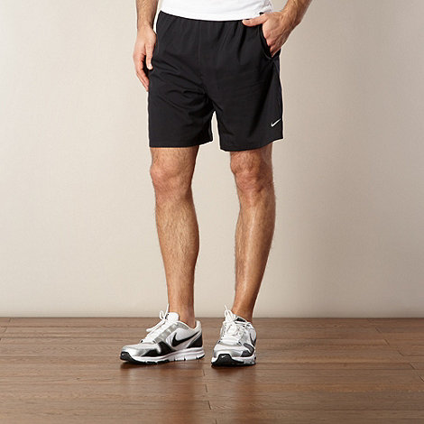 Nike - Black woven running shorts