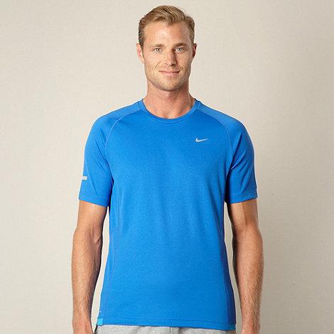Nike - Blue +Miler+ t-shirt