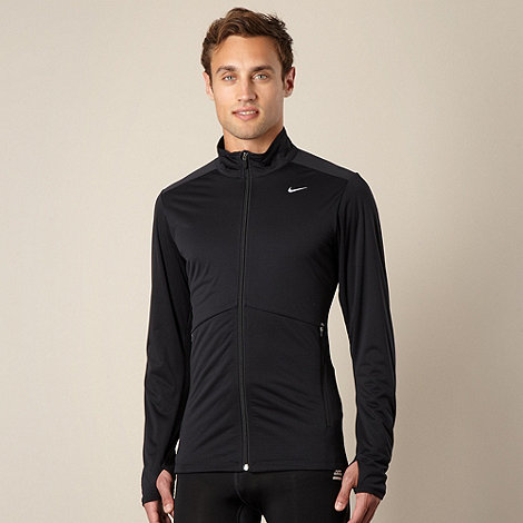 Nike - Black funnel neck jacket