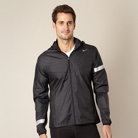 Nike - Black lightweight running jacket