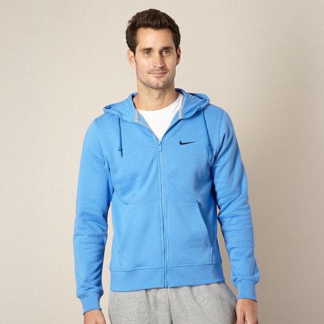 Nike - Blue zip through hoodie