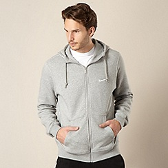 Nike - Grey zip through hoodie