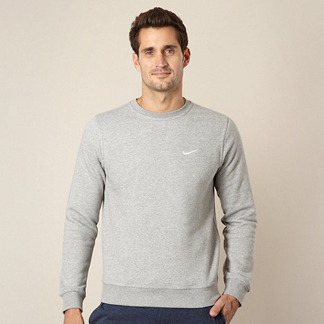 Nike - Grey crew neck jumper