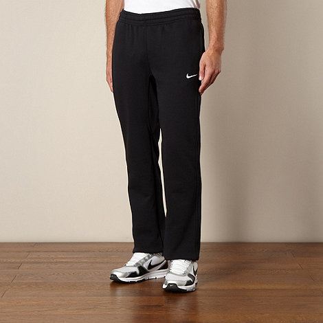 Nike - Black +Club+ cuffed jogging bottoms