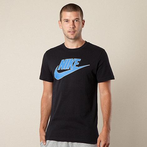 Nike - Black +Futura+ logo t-shirt