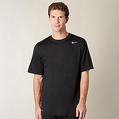 Nike - Black perforated t-shirt