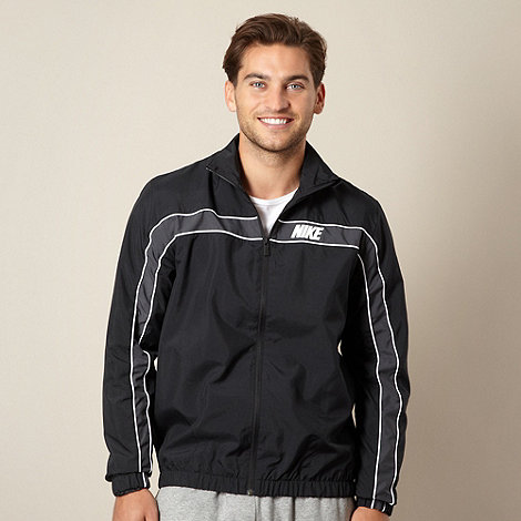 Nike - Black +Dash+ zip through track jacket