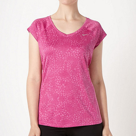 Nike - Pink spotted t-shirt