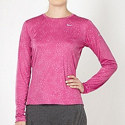Nike - Pink long sleeve t-shirt