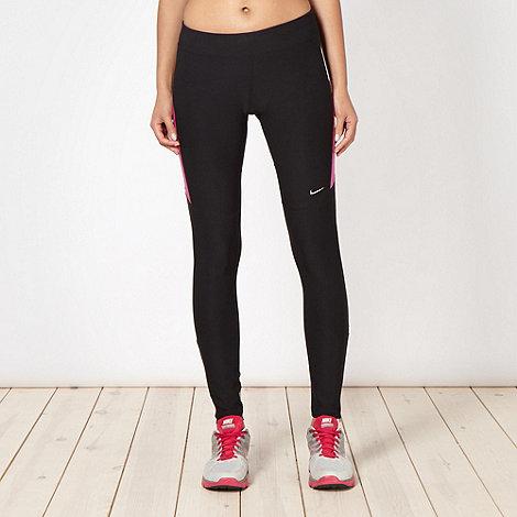 Nike - Black panel running tights