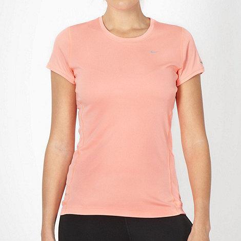 Nike - Coral +Miler+ t-shirt