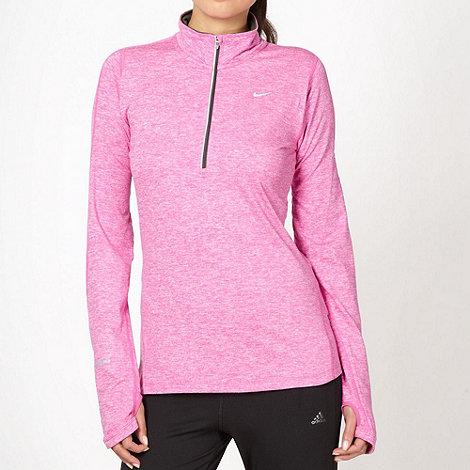 Nike - Pink +Element+ running top