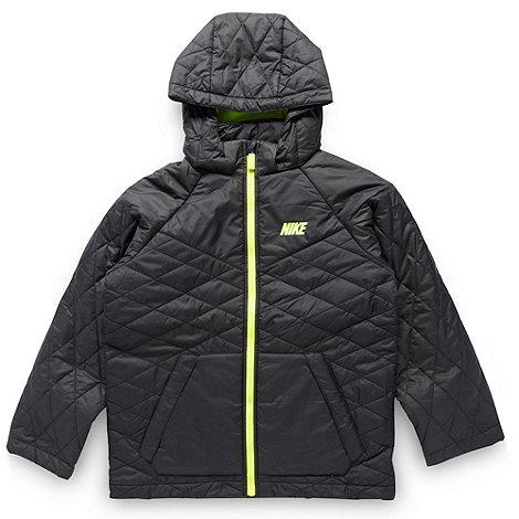 Nike - Boy+s black padded jacket