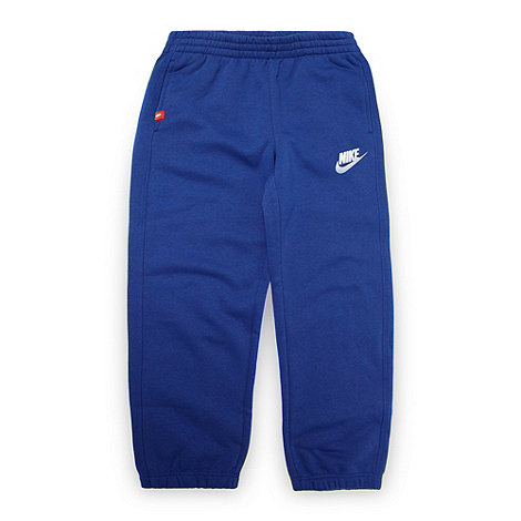 Nike - Boy+s dark blue +Futura+ jogging bottoms