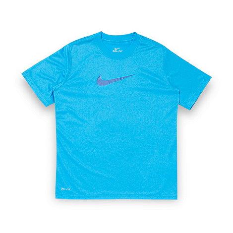 Nike - Boy+s blue +Legend+ logo t-shirt