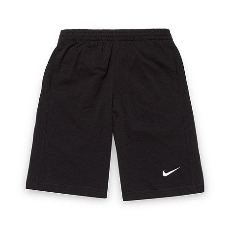 Nike - Boy+s black +N45+ jersey shorts