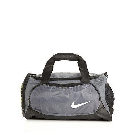 Nike - Grey +Team+ small duffle bag