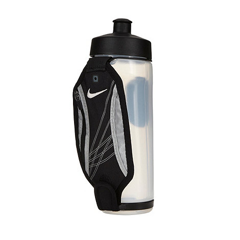 Nike - White hand held running bottle