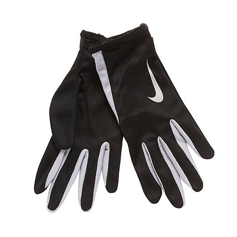 Nike - Black +Swift+ running gloves