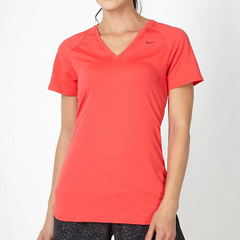 Nike - Dri-FIT' red sportswear t-shirt