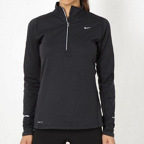 Nike - Black +Element+ running top