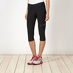Nike - Black cropped capri pants