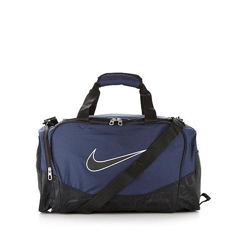 Nike - Navy +Brasilia 5+ duffle bag