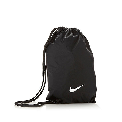 Nike - Black +Fundamentals+ gym bag