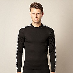 Helly Hansen - Black striped sleeve thermal t-shirt