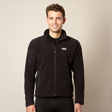 Helly Hansen - Black 'Velocity' zip through fleece