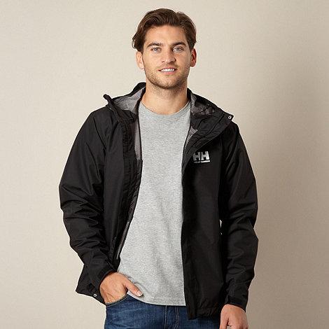 Helly Hansen - Black waterproof ski jacket