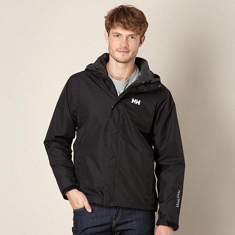 Helly Hansen - Black fleece waterproof jacket