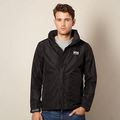 Helly Hansen - Black funnel neck outdoor jacket