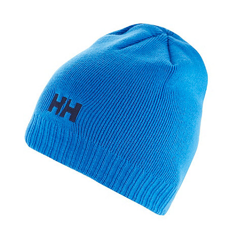 Helly Hansen - Blue logo beanie hat