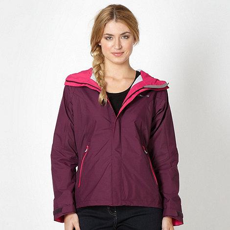 Berghaus - Plum fleece lined jacket