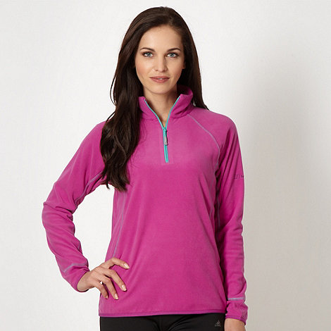 Berghaus - Pink fleece funnel neck top