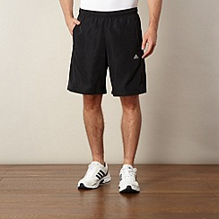 adidas - Black plain fitness shorts
