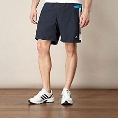 adidas - Navy woven fitness shorts