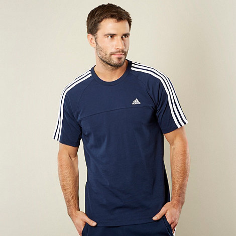 adidas - Navy crew neck t-shirt
